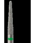 848L-023C-HP Freza diamantata cilindro-conica lunga
