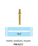 PIN0211 Pin mediu